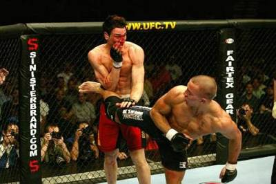 Jason Miller Georges St. Pierre UFC fight
